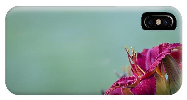Fuchsia In Bloom IPhone Case