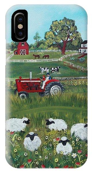 Future Farmer IPhone Case