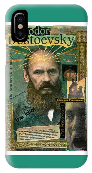 Fyodor Dostoevsky IPhone Case