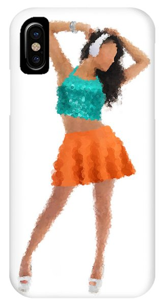 IPhone Case featuring the digital art Gaby by Nancy Levan