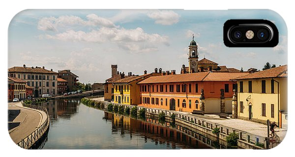 Gaggiano On The Naviglio Grande Canal, Italy IPhone Case