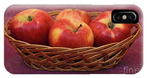 Gala Apple Basket IPhone Case