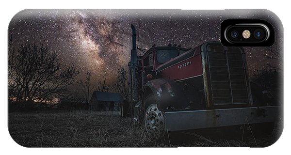 Abandoned Houses iPhone Case - Galactic Big Rig by Aaron J Groen