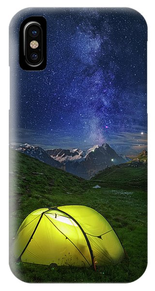 Galactic Eruption IPhone Case