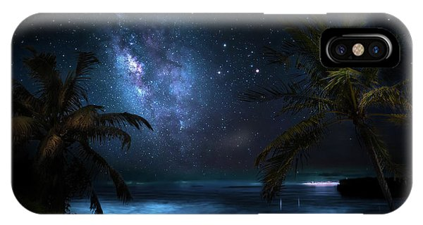 Galaxy Beach IPhone Case