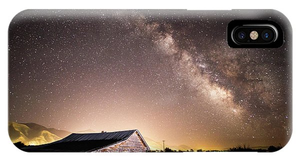 Galaxy In Star Valley IPhone Case