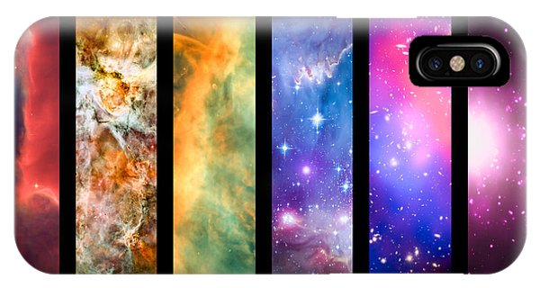 Astral iPhone Case - Space Rainbow by Delphimages Photo Creations