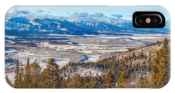 Galena Summit Idaho IPhone Case