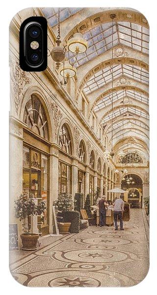 Paris, France - Galerie Vivienne IPhone Case