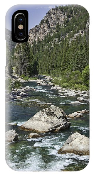 Gallatin River House Rock IPhone Case