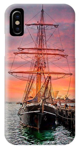 Ship iPhone Case - Galleano's Quest by Az Jackson