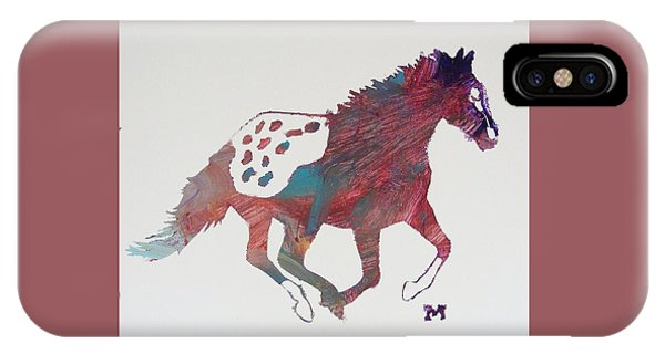 Galloping Apaloosa IPhone Case