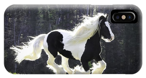 Galloping Gypsy IPhone Case
