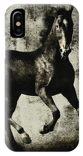 Galloping Horse Artwork IPhone Case