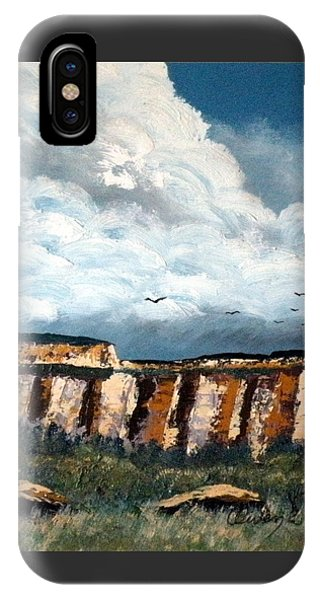 Gallup Bluffs 1 Of 6 IPhone Case
