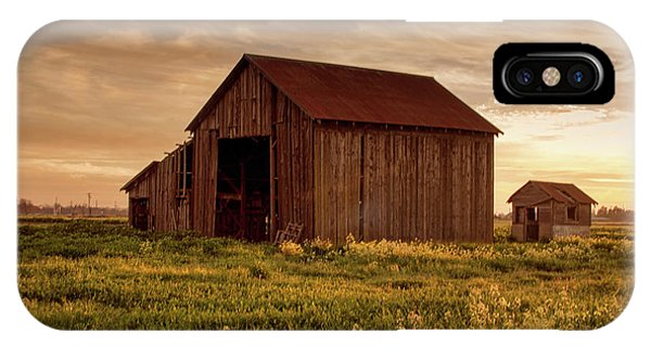 Galt Barn At Sunset IPhone Case