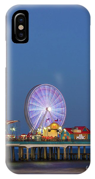 Galveston Pier  IPhone Case