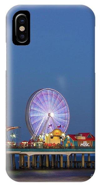 Galveston Pier  IPhone Case