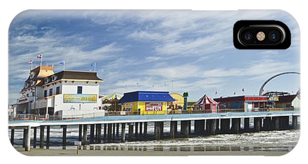 Galveston Pleasure Pier IPhone Case