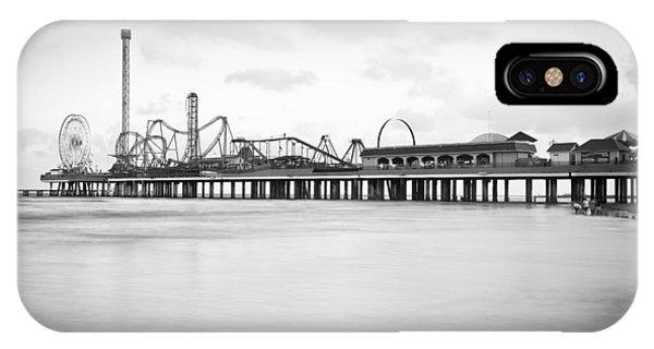 Galveston Pleasure Pier IPhone Case