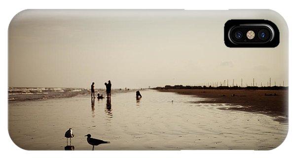 Galveston Seagulls IPhone Case