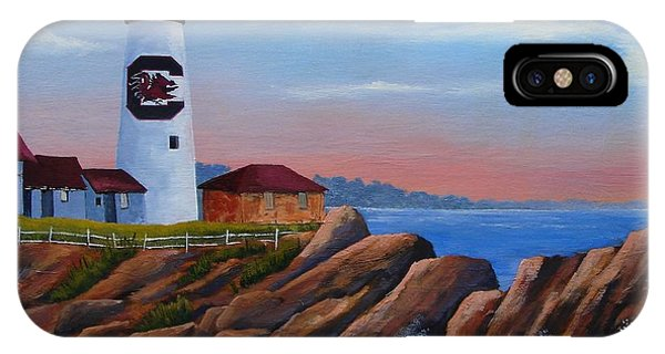 Gamecock Lighthouse IPhone Case