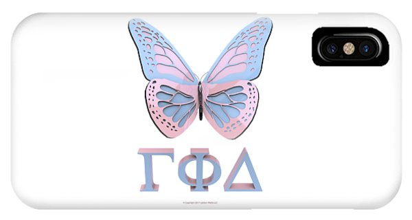 Gamma Butterfly Wings 3d IPhone Case