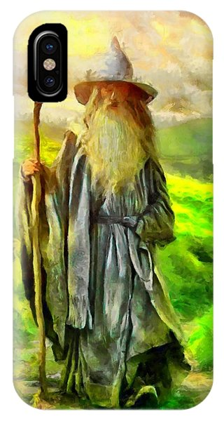 Gandalf, The  Grey IPhone Case