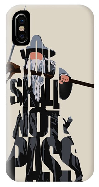 The iPhone Case - Gandalf - The Lord Of The Rings by Inspirowl Design