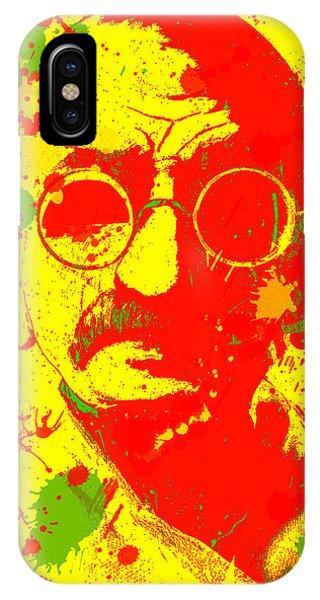 Gandhi Splatter IPhone Case
