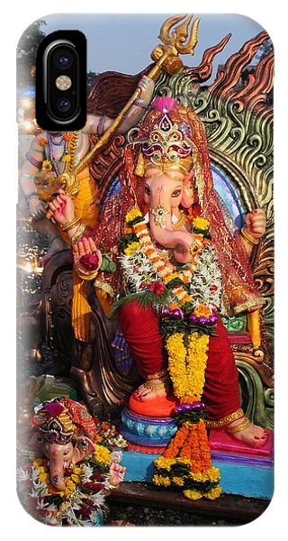 Ganesha Arati On Ganesh Chaturthi, Ganeshpuri IPhone Case