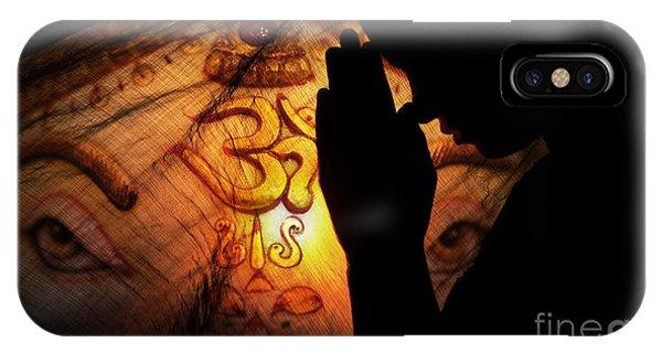 Divine Love iPhone Case - Ganesha Dreams by Tim Gainey