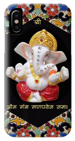 Ganesha Frame IPhone Case