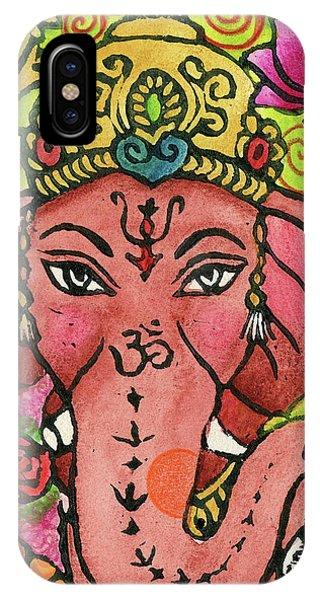 Ganesha Portrait IPhone Case