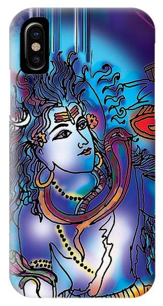 Gangeshvar Shiva IPhone Case