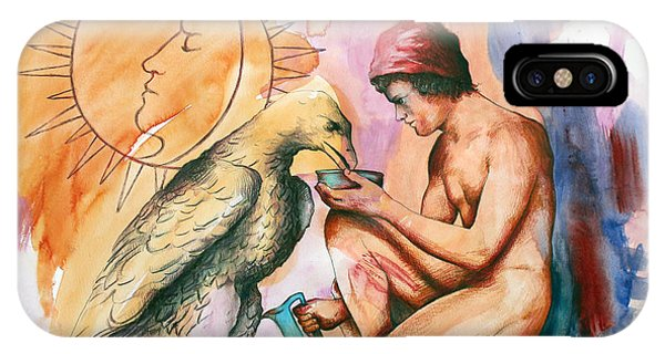 Ganymede And Zeus IPhone Case