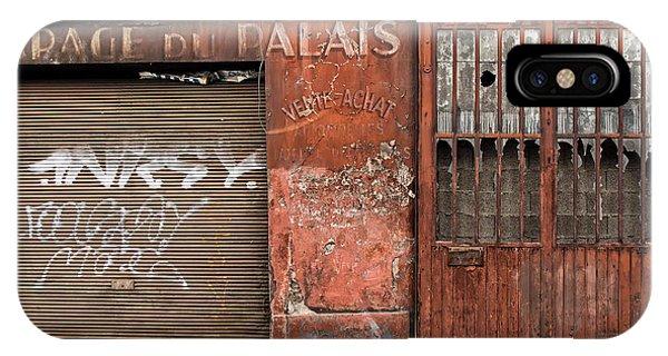 Garage Du Palais IPhone Case