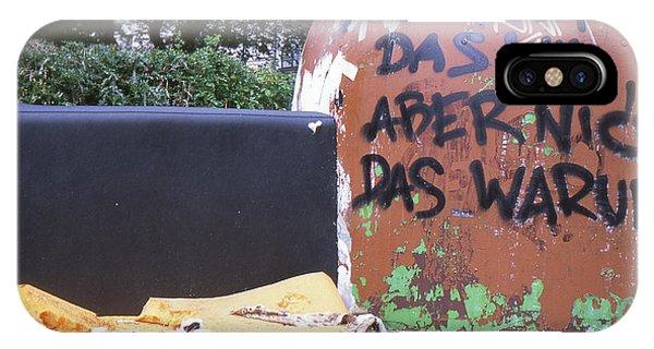 Garbage Message IPhone Case