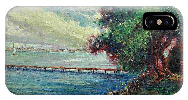 Garda Lake -lago Garda IPhone Case