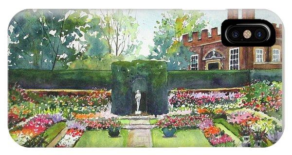 Garden At Hampton Court Palace IPhone Case
