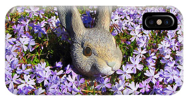Garden Bunny IPhone Case