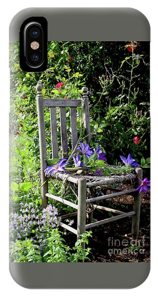 Garden Chair IPhone Case