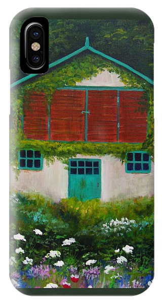 Garden Cottage IPhone Case