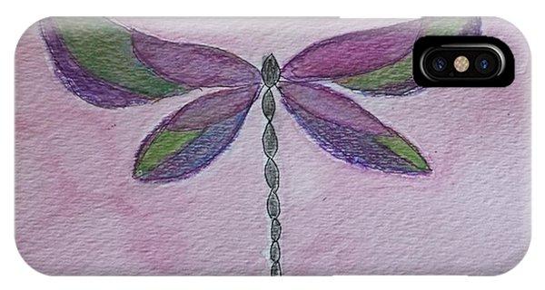 Garden Dragonfly IPhone Case