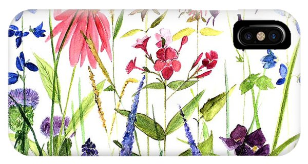 Garden Flowers IPhone Case