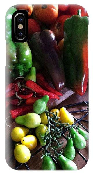 Garden Fresh Produce IPhone Case