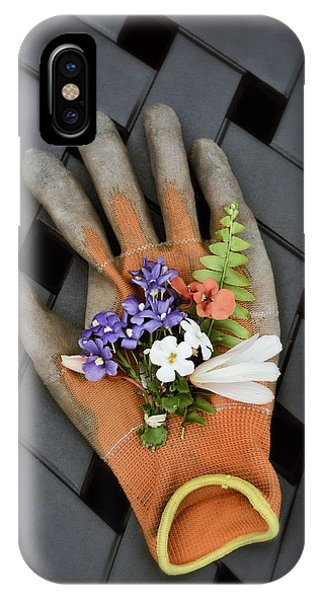 Garden Glove And Flower Blossoms3 IPhone Case