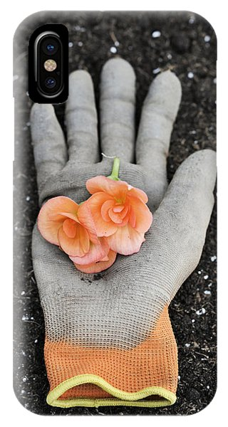 Garden Glove And Flower Blossoms4 IPhone Case