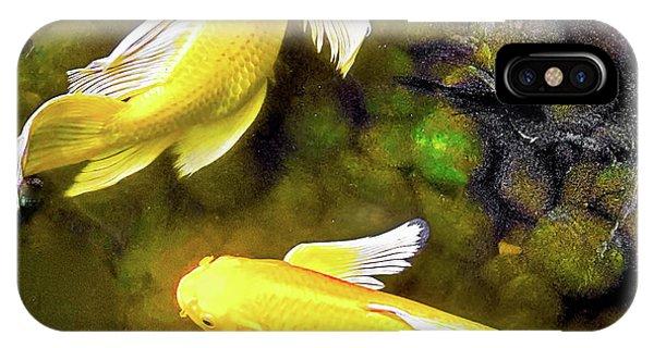 Garden Goldenfish IPhone Case