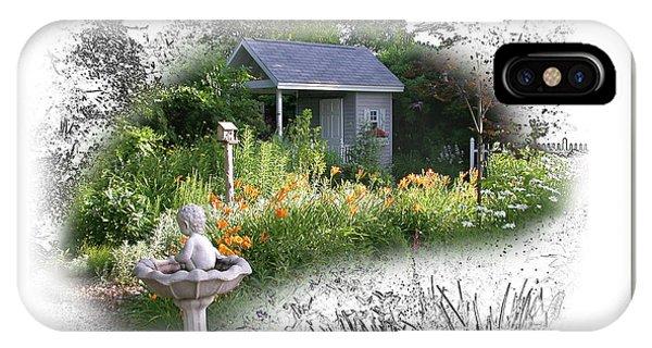 Garden House IPhone Case